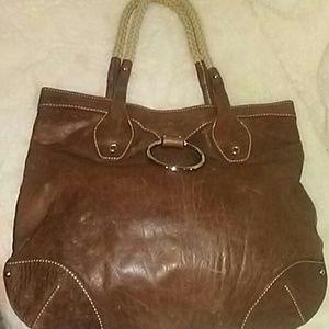08432ff039ac Donna Dixon Bags - Donna Dixon leather handbag